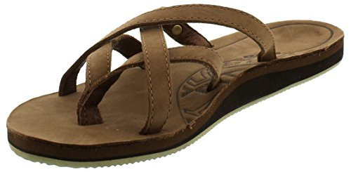 Teva-Olowahu-Leather-Ws-Damen-Sport-Outdoor-Sandalen-Braun-bison-561-EU-42