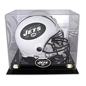 New York Jets Deluxe Full Size Helmet Display Case