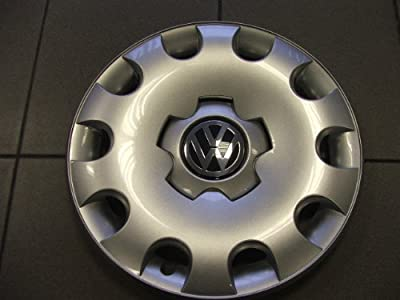 Volkswagen - 1C0601147LGJW Golf 15 Inch New Factory Original Equipment Hubcap