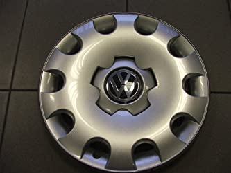 Volkswagen – 1C0601147LGJW Golf 15 Inch New Factory Original Equipment Hubcap