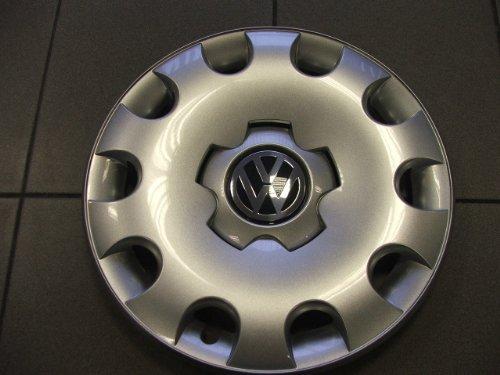 Volkswagen - 1C0601147LGJW Golf 15 Inch New Factory Original Equipment Hubcap (Vw Rabbit Wheel Cover compare prices)