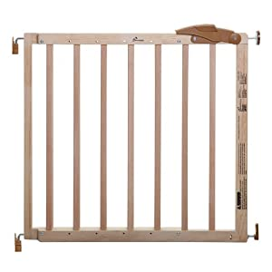 Dreambaby Cottage Gro Gate, Natural Wood