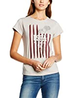 U.S.POLO ASSN. Camiseta Manga Corta (Crudo)