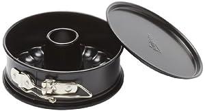 Patisse Nonstick 2 Bases Springform Pan, 4 3/4-Inch, Black