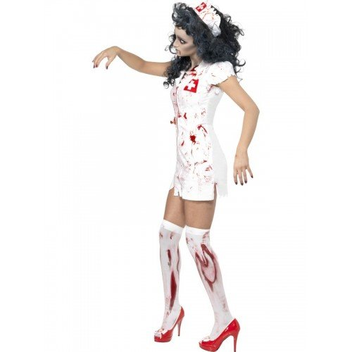 Halloween Zombie Nurse Costumes Halloween Ladies Zombie Nurse