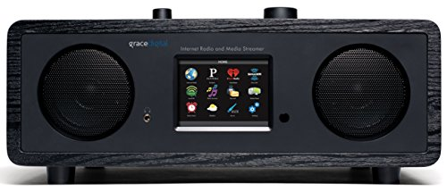 Buy Cheap Grace Digital GDI-IRC7500 Stereo Wi-Fi Music System with 3.5-Inch Color Display (Black)