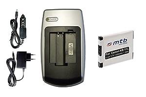 Chargeur + Batterie NB-11L pour Canon PowerShot A2300, A2400 IS, A3400 IS, A4000 IS, ELPH 110 HS...+ voir liste!