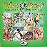 Who's at Home in the Animal Habitat - A Family Nature Game
