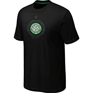 Celtic FC Black Nike Core Plus T-Shirt