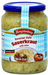 Hengstenberg Sauerkraut, Bavarian Style, 24 Ounce (Pack of 12) (Kielbasa And Sauerkraut compare prices)