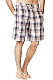 XXXL Blue Harbour Checked Swim Shorts
