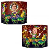 Mardi Gras Photo Prop (1 side male; other side female) Party Accessory  (1 count) (1/Pkg)