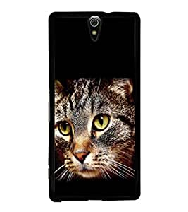 printtech Cat Eyes Back Case Cover for Sony Xperia C5 Ultra Dual , Sony Xperia C5 E5553 E5506::Sony Xperia C5 Ultra
