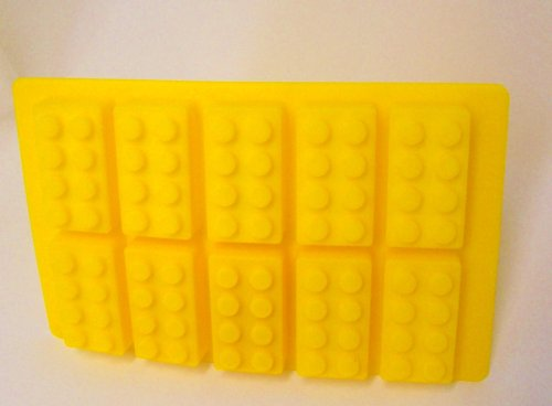 Building Bricks Ice Cube Tray or Candy Mold--for Lego Enthusiasts!