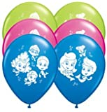 "Bubble Guppies 11"" Round Latex Balloons (6 count)"