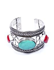 Indosheen Scarlet Metal Cuff For Women