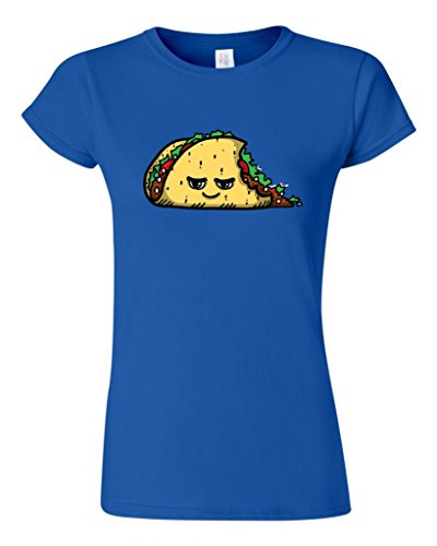 Junior Too Cute To Eat Taco DT Novelty T-Shirt Tee (XXX Large, Royal Blue) (Royal Cook Tortilla compare prices)