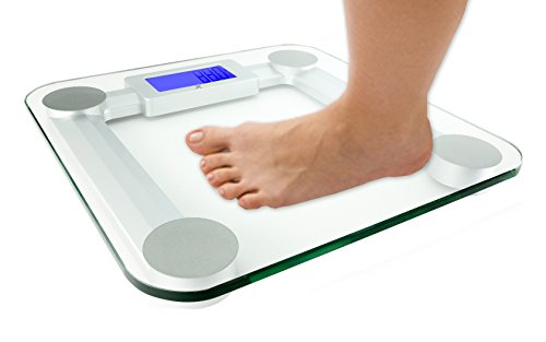 Xtech Highly Accurate 440lbs 200kg Capacity Precision Digital Bathroom Scale With Automatic On