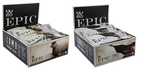 Epic Lamb Currant Mint + Turkey Almond Cranberry - Box Of 12