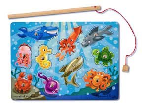 Fishing Magnetic Puzzle Game - (Child)