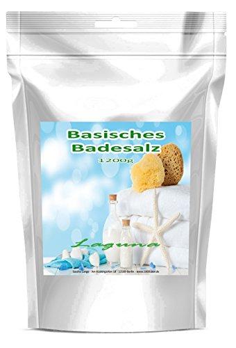 1.200 g Basisches Bade-Salz Badesalz Bad Salz Spa Entspannung Standbeutel wiederverschließbar
