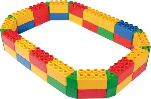 wader caja de arena para juegos infantiles bloques varios colores