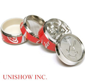 Coke-Pop-CAN-2-Super-Mini-tobacco-Herb-Grinder4-Parts