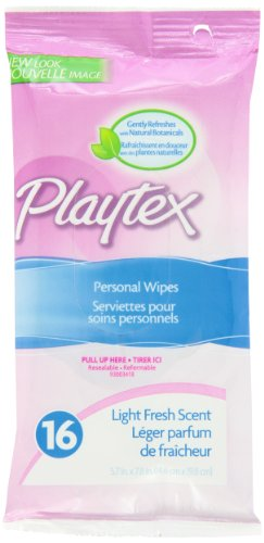 Playtex Personal Cleasning Cloths Travel Pack, 16-Count Box (Pack Of 6) front-1034206