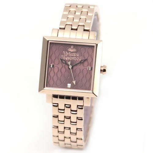 [ヴィヴィアンウエストウッド] Vivienne Westwood 腕時計 VV087BYRS レディース ピンクゴールド Ladies Watch [並行輸入品]