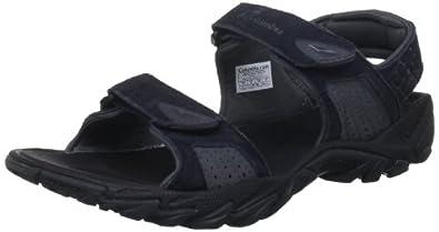 Columbia Men's Ridgeway Black/Charcoal Sandal BM4403 10 UK