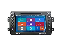 See Crusade Car DVD Player for Suzuki Sx4 2006- Support 3g,1080p,iphone 6s/5s,external Mic,usb/sd/gps/fm/am Radio 8 Inch Hd Touch Screen Stereo Navigation System+ Reverse Car Rear Camara + Free Map Details