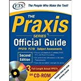 img - for The Praxis Series Official Guide with CD-ROM, Second Edition: PPST  ? PLT? ? Subject Assessments (Praxis Series Official Guide: PPST Pre-Professional Skills Test (W/CD)) (Paperback) book / textbook / text book