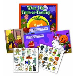 Halloween When I Go Trick-or-Treating book with Party CD - 1