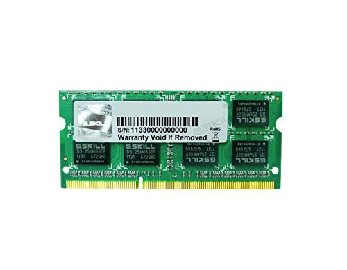 G.Skill SO-DIMM 4GB DDR3-1333 F3-1333C9S-4GSL
