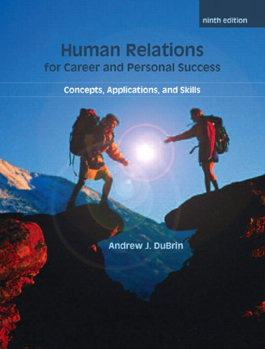 Human Relations For Career and Personal Success:...
