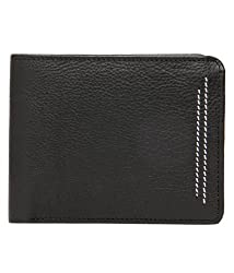 RL W 37- Gr Green Leather Neo Stitch Wallet For Men