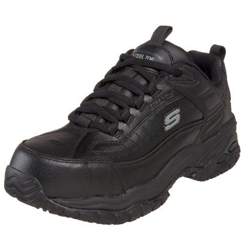 skechers-lavoro-76760-morbida-stride-acciaio-toe-scarpe-da-lavoro