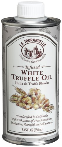 La Tourangelle Infused White Truffle Oil, 8.45-Ounce Tins (Pack of 2)