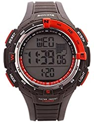 Sonata SF By Sonata Ocean Series II Digital Watch For Men-77013PP03