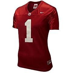Nike Alabama Crimson Tide #1 Ladies Replica Football Jersey - Crimson (X-Large) by Nike