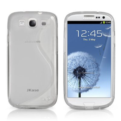 Jkase Slim-Fit Streamline Ultra Durable Tpu Case For Samsung Galaxy S Iii - Retail Packaging - Clear