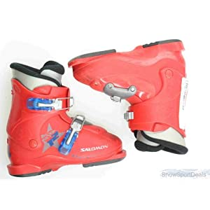 Used Salomon Performa T2 Ski Boots Toddler
