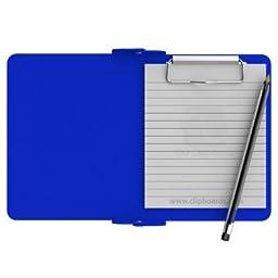 Blue Mini Novel ISO Clipboard