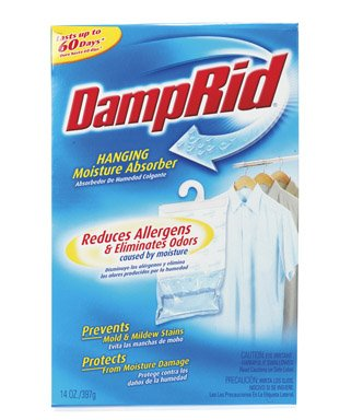Cheap Damp Rid Hanging Moisture Absorber, Powder Fresh Scent-14 oz (FG80)
