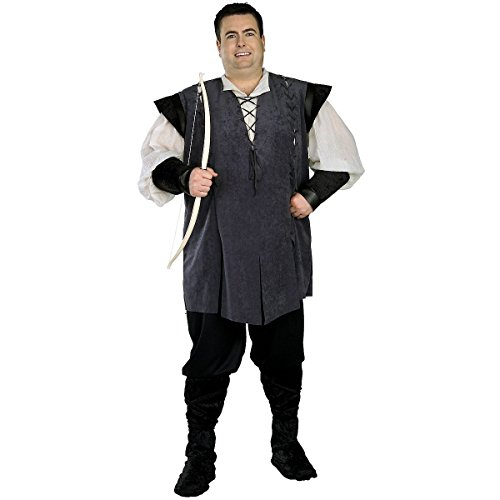 Robin Hood Costume - Plus Size - Chest Size 46-50