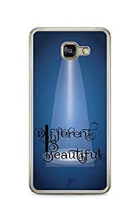 YuBingo Different is Beautiful Designer Mobile Case Back Cover for Samsung Galaxy A7 2016