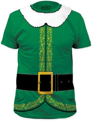 Impact Elf Costume Men's Tee
