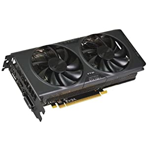 EVGA NVIDIA GTX 750Ti FTW with ACX Cooling 1189MHz (Boost 1268MHz) 5400MHz 2GB 128-bit GDDR5 HDMI DVI-I DP PCI-E Graphics Card