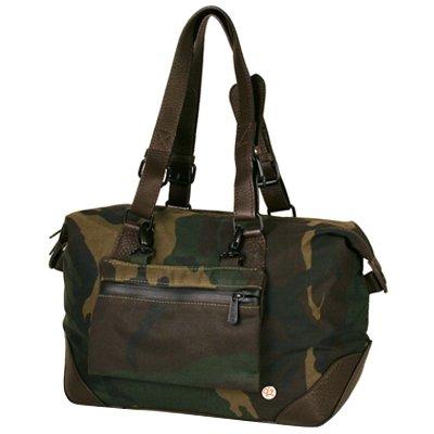 Camouflage Token Lafayette Waxed Duffle Bag - XS