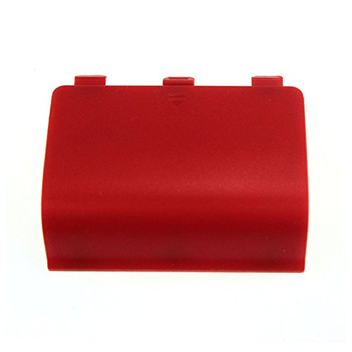 Coromose® Controller Battery Door Shell Cover Replacement Part for Xbox One (Red)